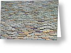 Roof Tiles Greeting Card