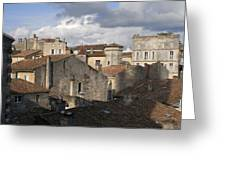 Roof Top View Greeting Card