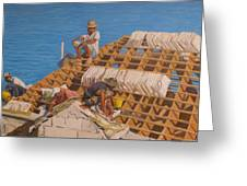 Roofworkers Greeting Card