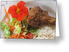 Rooibos Chicken Greeting Card