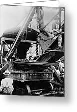 Roosevelt, Panama Canal Construction Greeting Card
