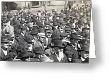 Roosevelt Speech, 1905 Greeting Card
