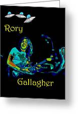 Rory And The Aliens Greeting Card