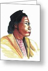 Rosa Parks Greeting Card