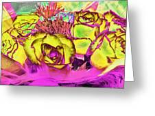 Rose Boquet Art Greeting Card