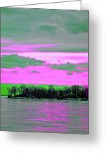 Rose Colore Scape Greeting Card