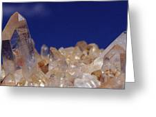 Rose Crystals Greeting Card