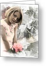 Rose Faery Greeting Card