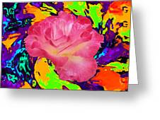 Rose In The Matter Of Your Hand 6 Greeting Card
