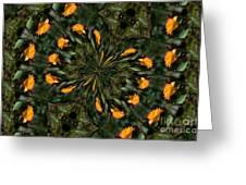 Rose Kaleidoscopic  Greeting Card