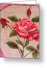 Rose Of Love And Romance Greeting Card