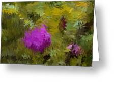 Rose Pond Greeting Card