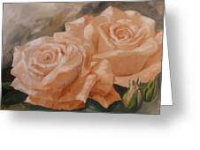 Rose Study Greeting Card