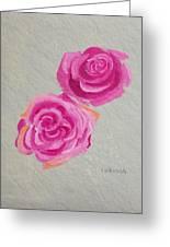 Rose Study Greeting Card