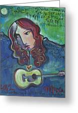 Roseanne Cash Greeting Card