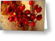Rosehips Greeting Card