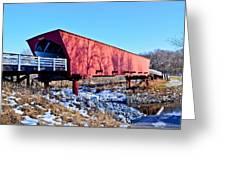 Roseman Covered Bridge Greeting Card