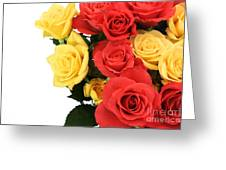 Roses Closeup Greeting Card