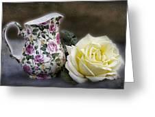 Roses Speak Of Romance Greeting Card