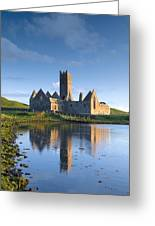 Rosserk Friary, Co Mayo, Ireland 15th Greeting Card