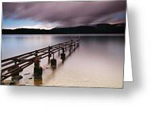 Rotten Pier Greeting Card