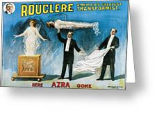 Rouclere America's Greatest Transformist Greeting Card