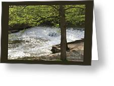 Rouge River At Fair Lane Greeting Card