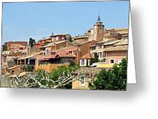Roussillon In Provence Greeting Card