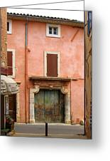 Roussillon Painted Door Greeting Card