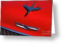 Route 66 Classic Cars 1 Greeting Card