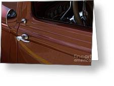 Route 66 Classic Cars 14 Greeting Card