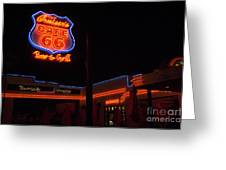 Route 66 Cruisers Greeting Card
