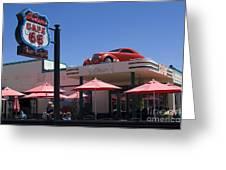 Route 66 Cruisers Williams Arizona Greeting Card