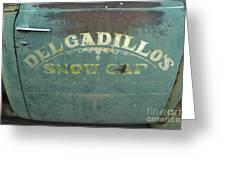 Route 66 Del Gadillos Greeting Card