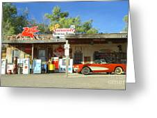 Route 66 Hackberry Arizona Greeting Card