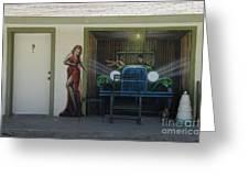 Route 66 Motel Arizona Greeting Card