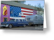 Route 66 Nomad Greeting Card