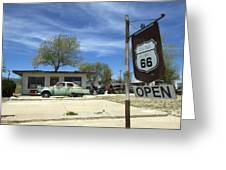 Route 66 Still Open Greeting Card