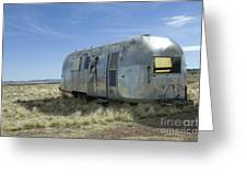 Route 66 Trailer Greeting Card