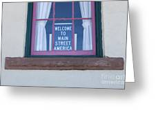 Route 66 Welcome Sign Greeting Card