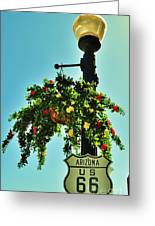 Route 66 Williams Arizona Greeting Card