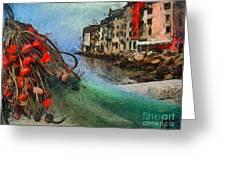 Rovinj The Ancient Adriatic City Greeting Card