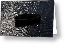 Row Boat In The Sun Greeting Card