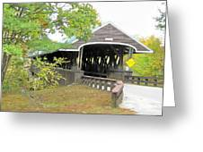 Rowell Covered Bridge Greeting Card