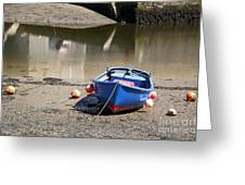 Rowing Boat Greeting Card