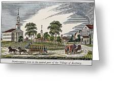 Roxbury, Massachusetts Greeting Card