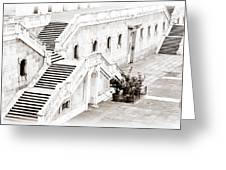 Royal Palace Madrid Greeting Card