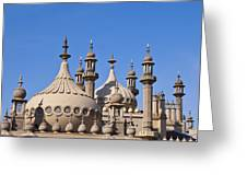 Royal Pavillion - Brighton England Greeting Card