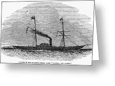 Royal Yacht, 1843 Greeting Card