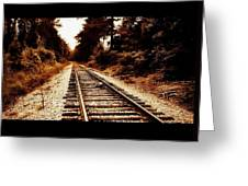 Rr Tracks Greeting Card